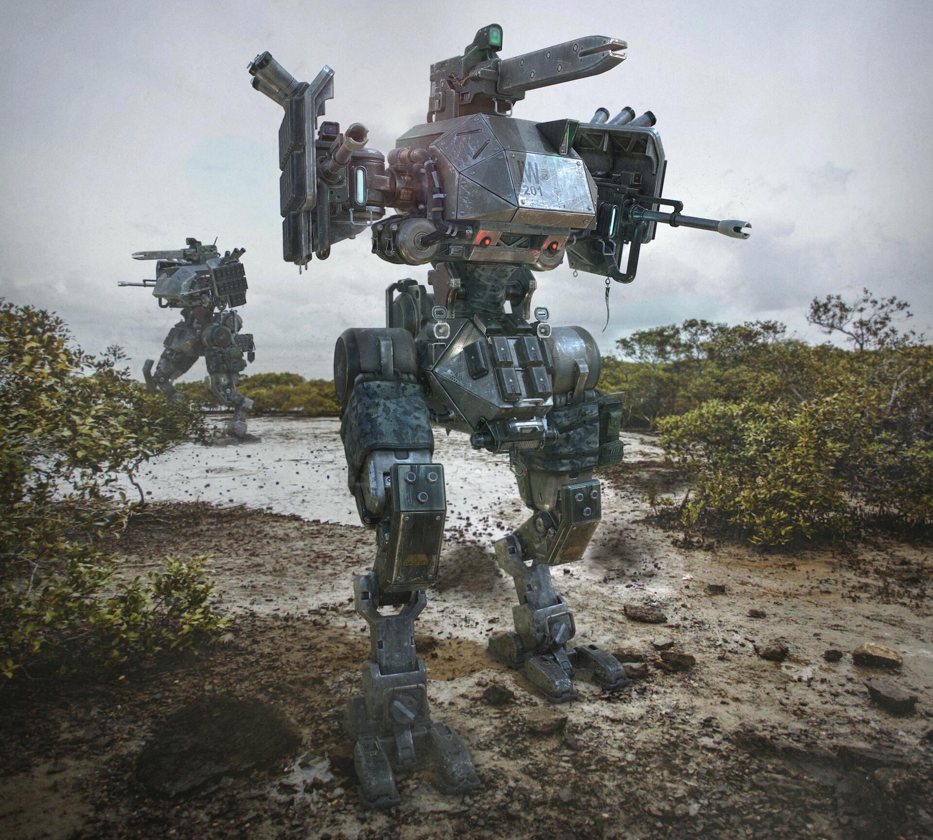 Patrick nuckels infantry walker r5 beauty background 01