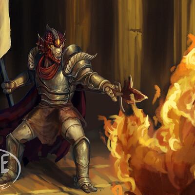 Olie boldador helglaive cleric of zeal