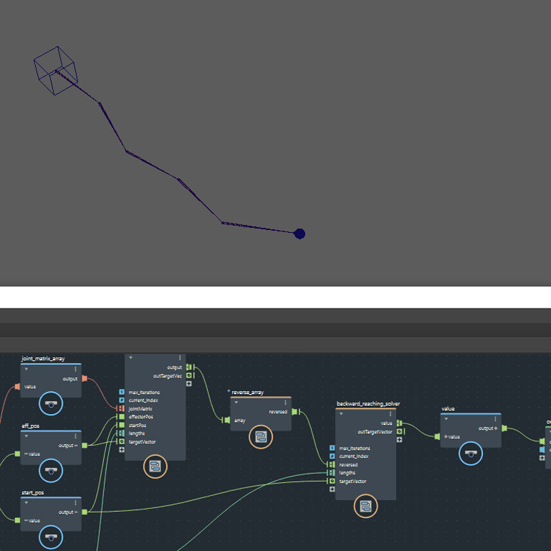 R&D: Multi Chain IK Solver using Bifrost