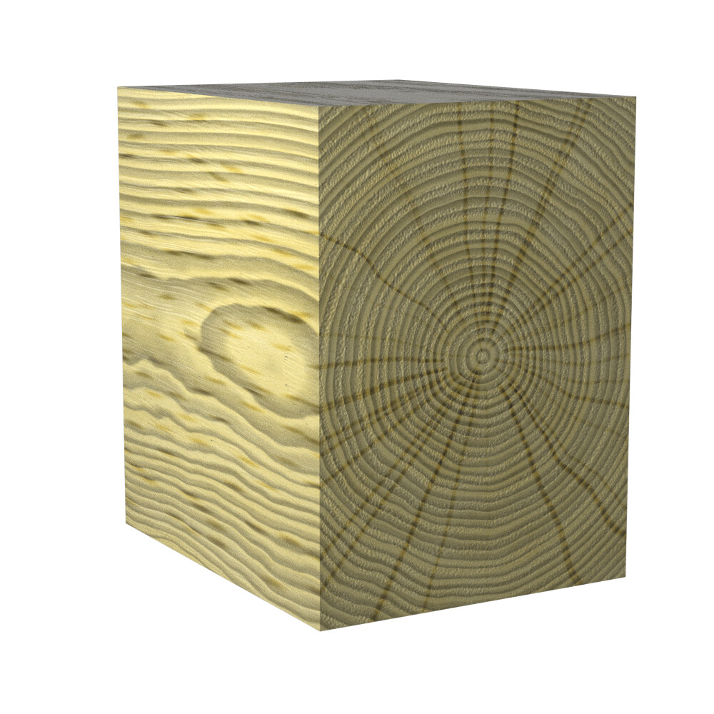 A wood material made with advanced wood plug-in and vray materials
