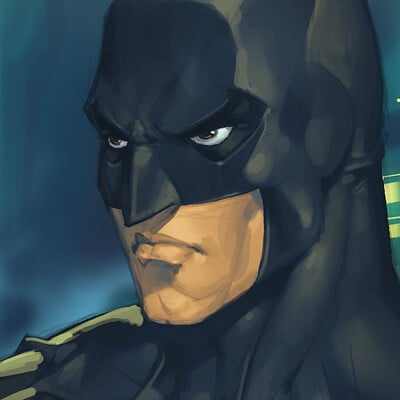 Chuck art batman2