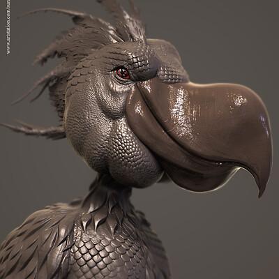 Surajit sen dodo digital sculpture surajitsen aug2019