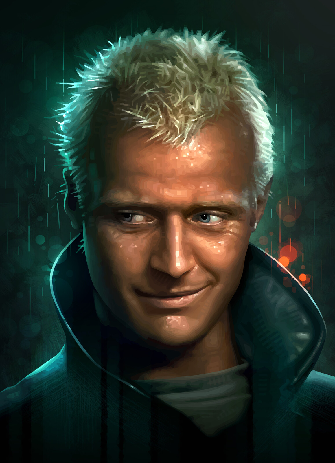 Batty Portrait (Blade Runner)
