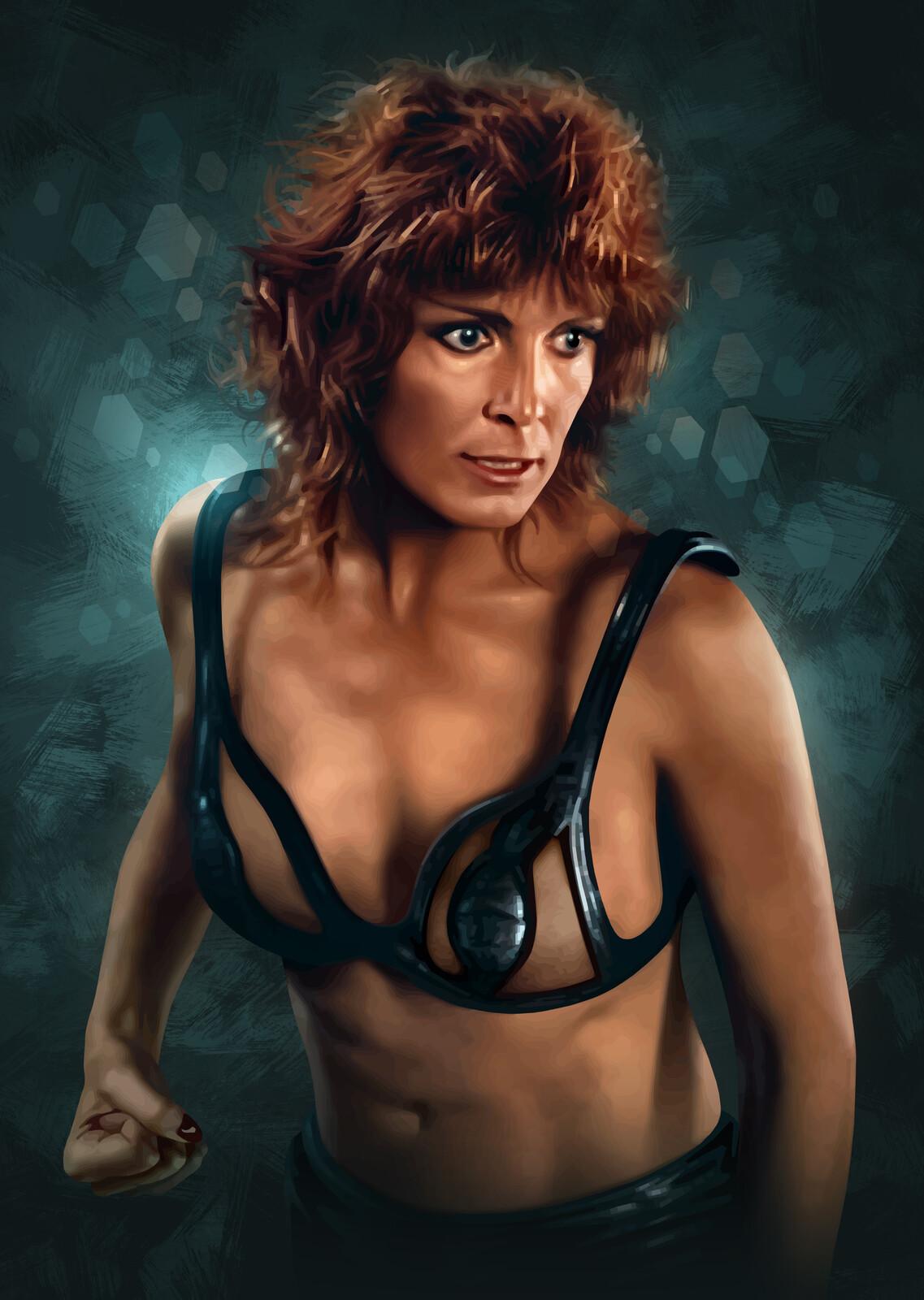 Zhora Portrait (Blade Runner)