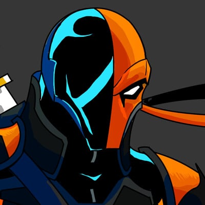 Taylor gooden deathstroke 2 touch up
