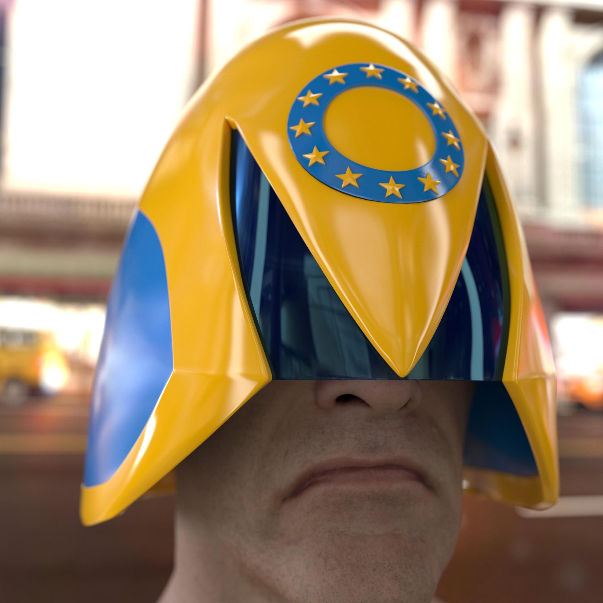 Euro-Cit Judge (Based on a design by Inaki Miranda)