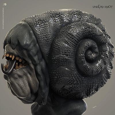 Surajit sen undex knot digital sculpture surajitsen aug2019