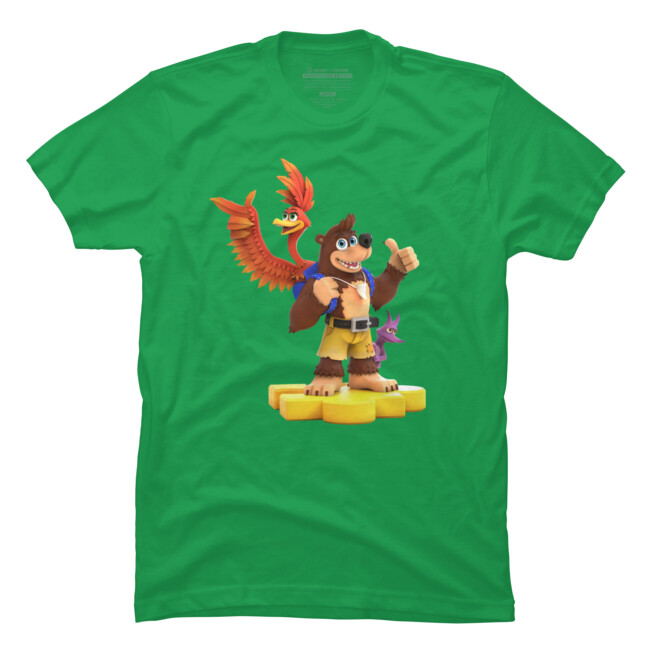 This design was even used on officially licensed T-Shirts in Rare's Fan shop!  https://www.designbyhumans.com/shop/t-shirt/men/banjo-kazooie-and-jinjo-too/1229901/