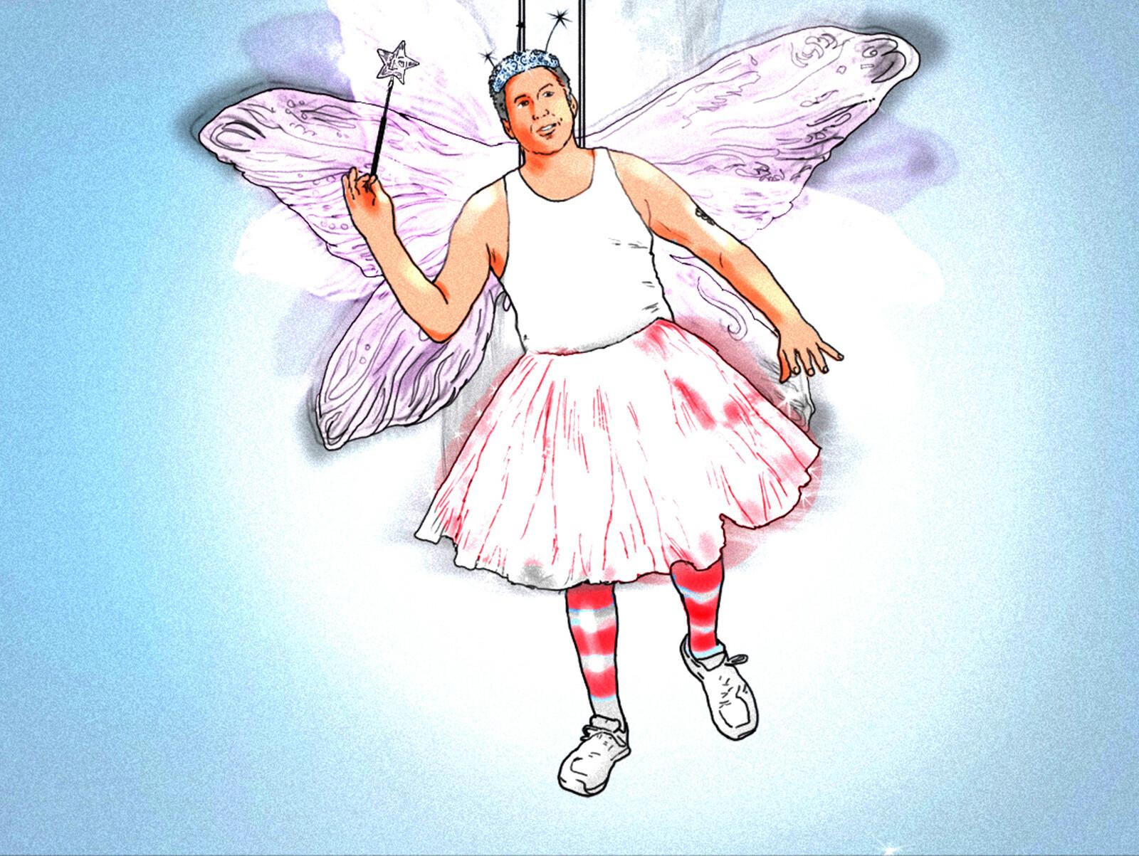 Subway. Fairy Dude. :30 Tv concept.