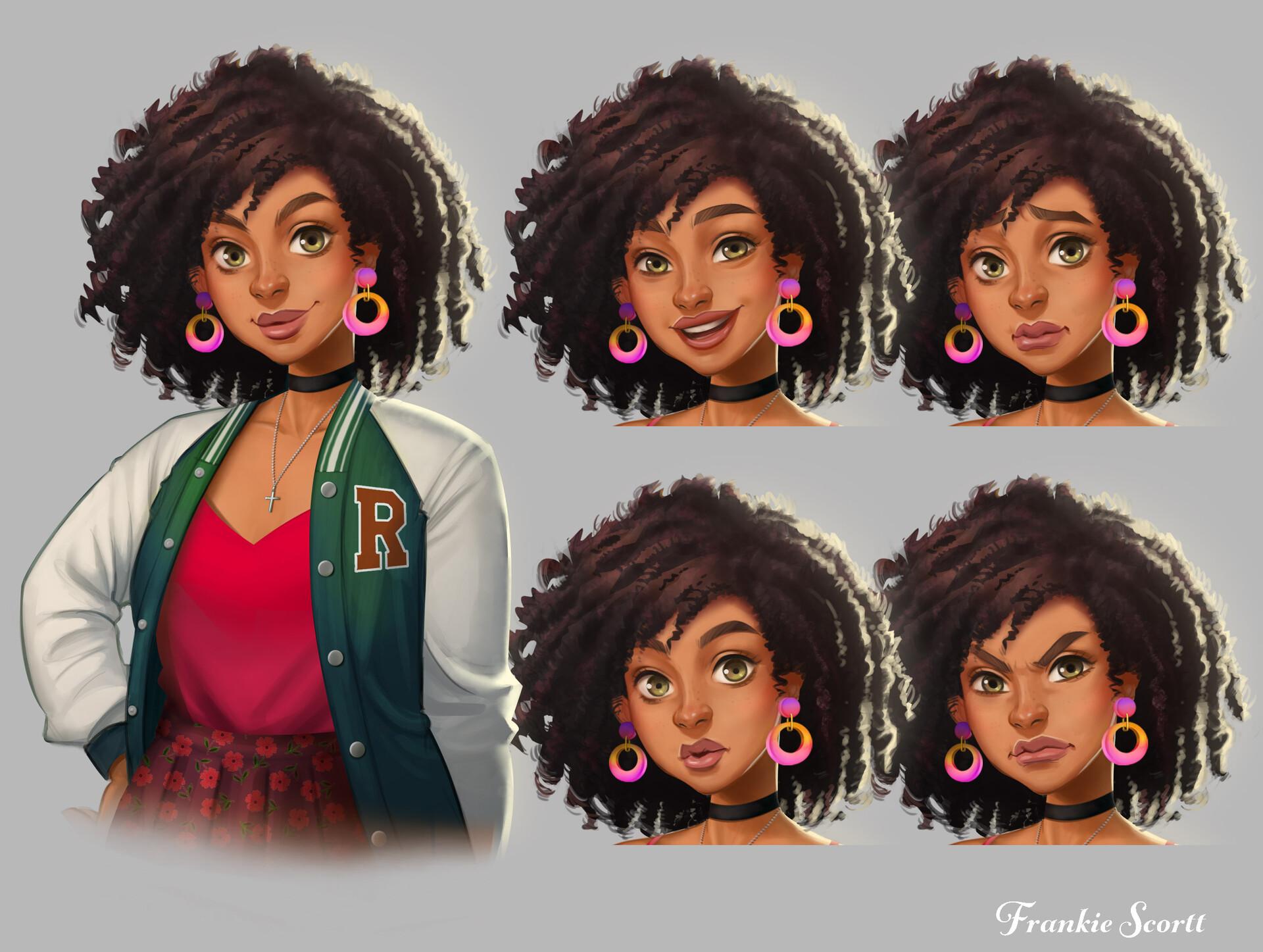 Character Art: Frankie