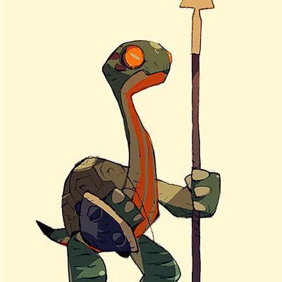 Satoshi matsuura 2019 08 02 turtle warrior s