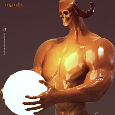 Surajit sen onlooker02 digital sculpture surajitsen aug2019