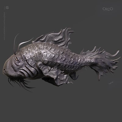 Surajit sen orco digital sculpture surajitsen aug2019