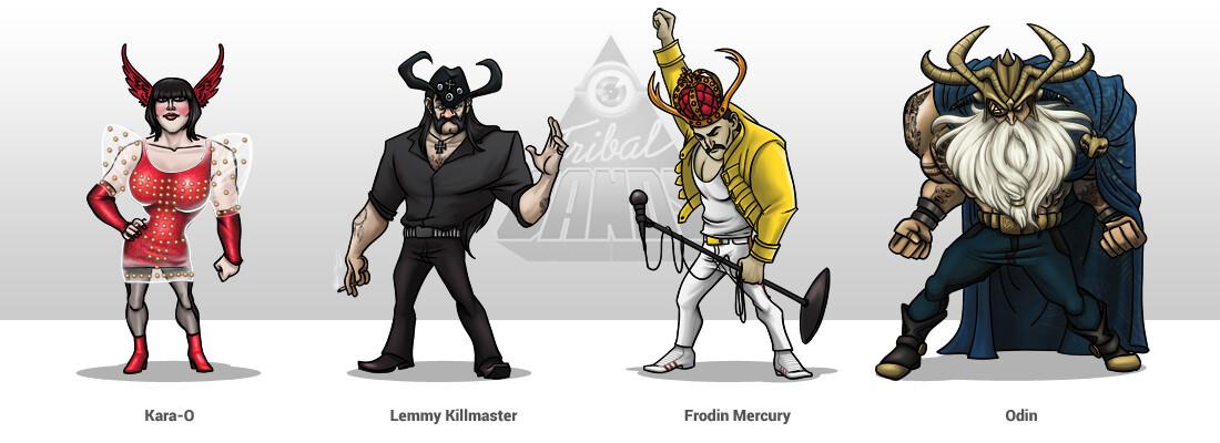 Viking Bosses