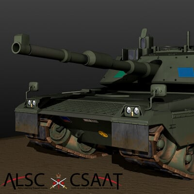 C1 Ariete Main Battle Tank (Textured)