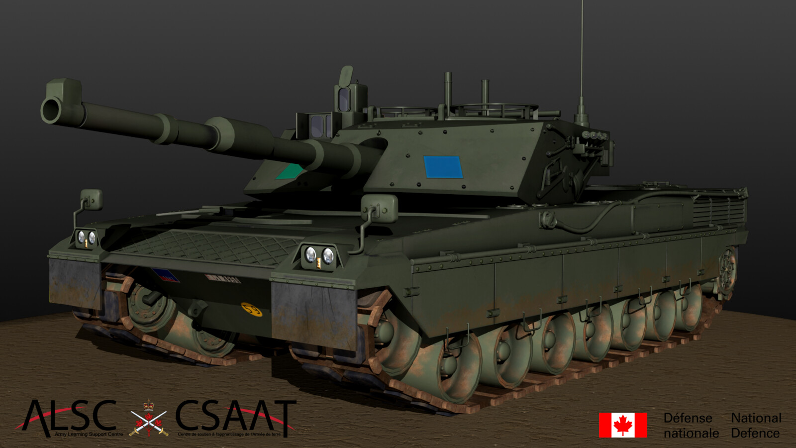 C1 Ariete Main Battle Tank (Textured)