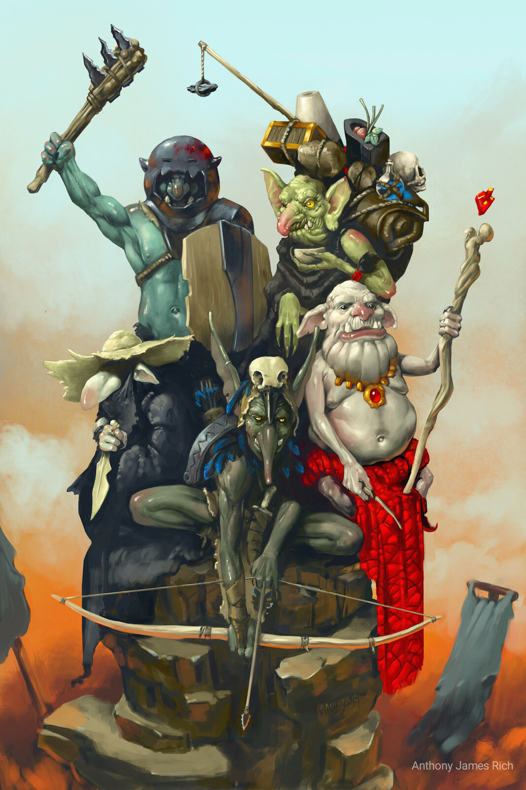 Goblin Adventuring Party
