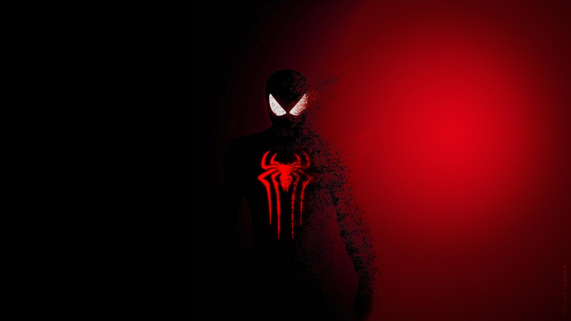 Artstation Spiderman Glow Dark Wallpapers Amanz Galzor