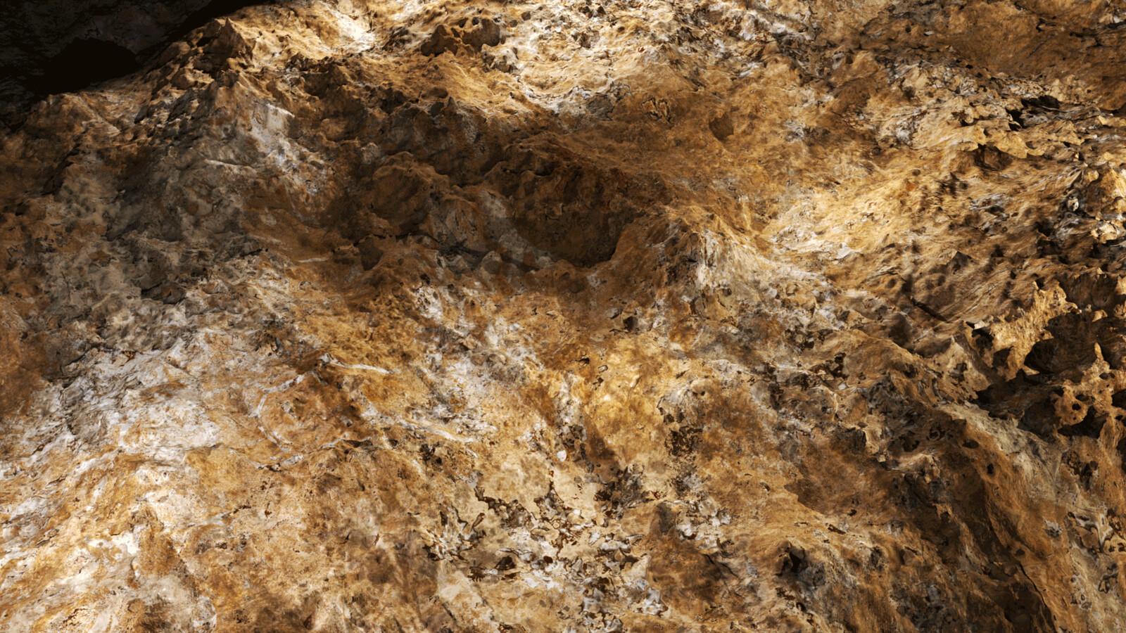 procedural rocky ground