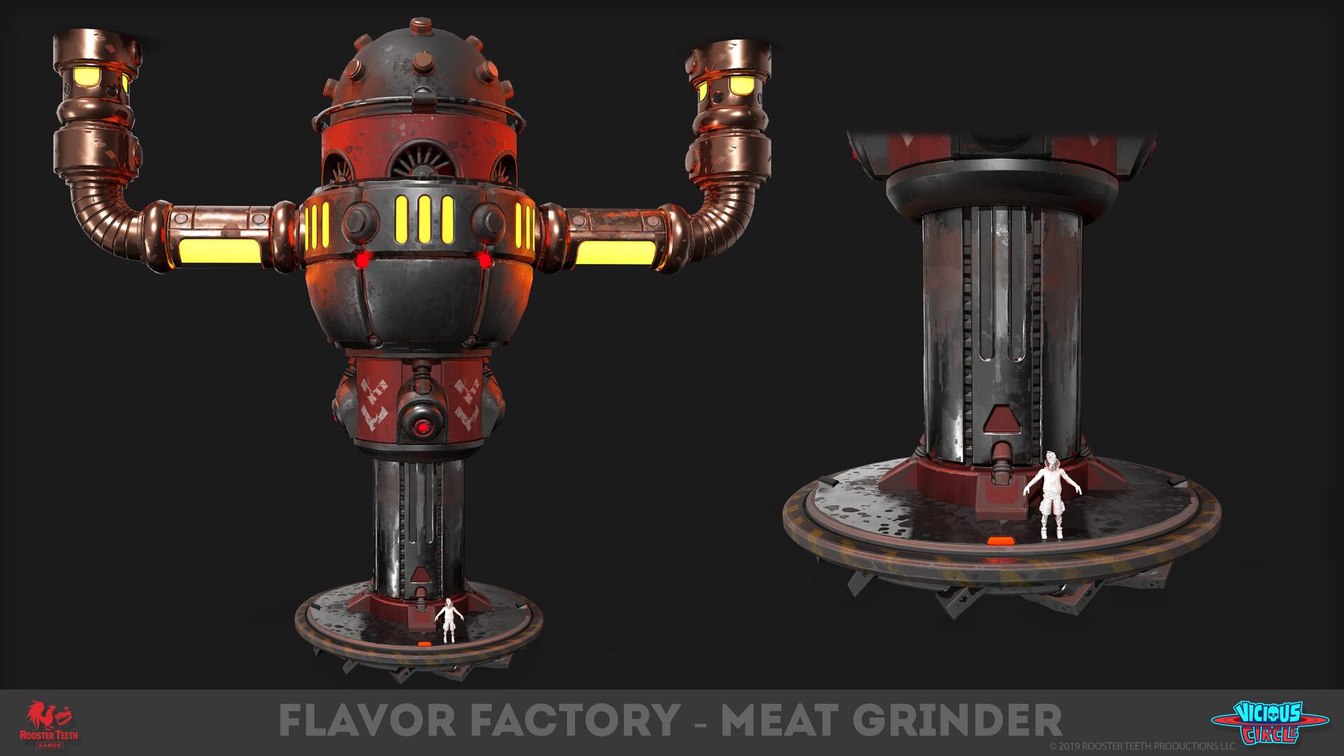 Markel milanes meatgrinder 06