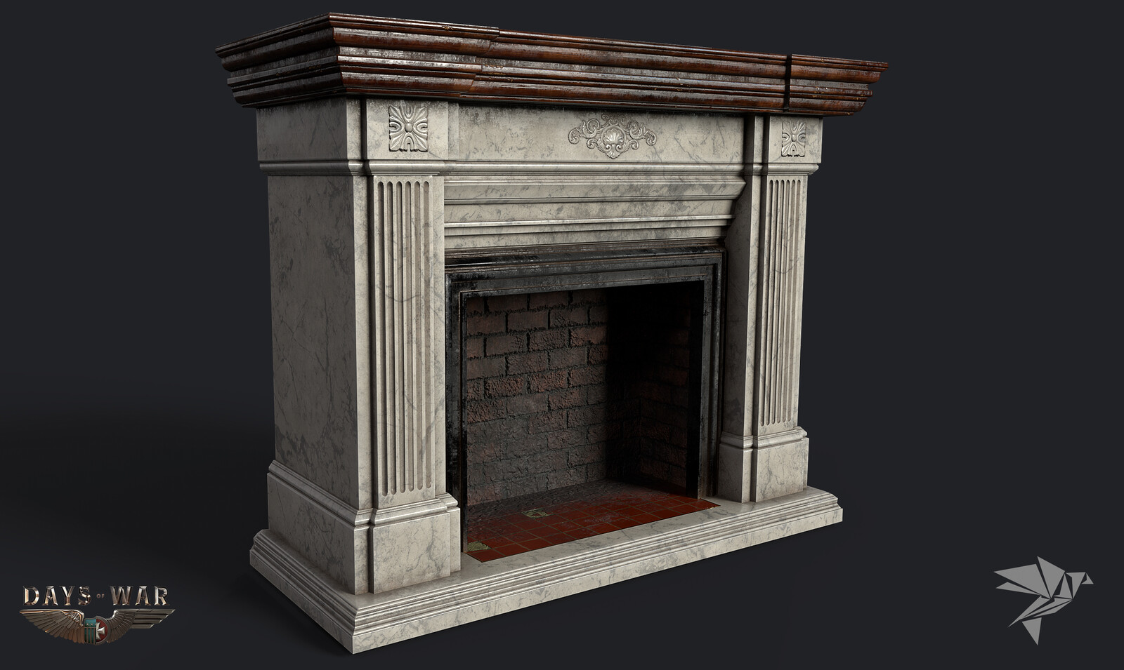 Days of War Fireplace