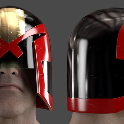 Steve green dredd jock version