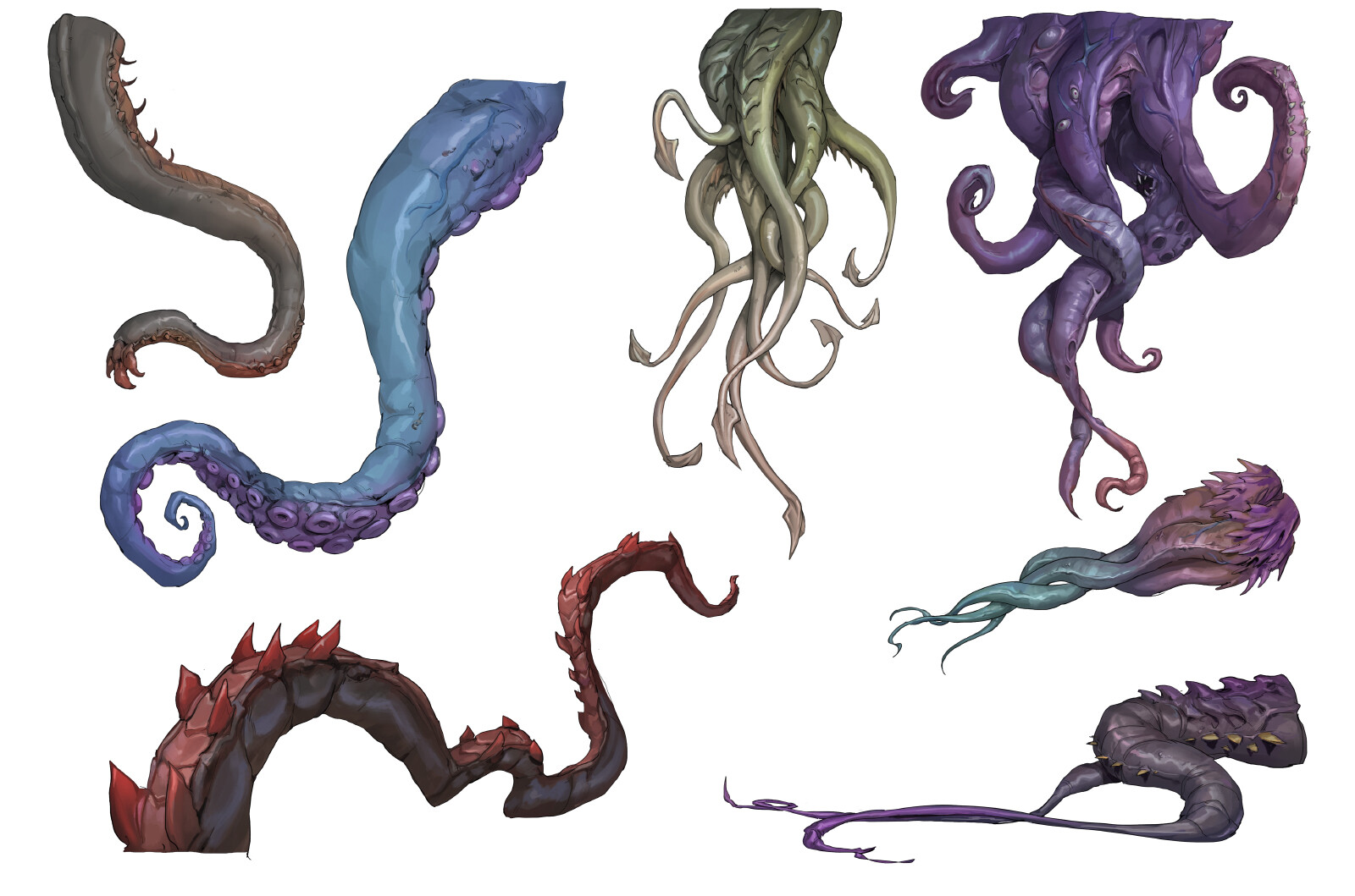 Jordy knoop lovecraft tentacles