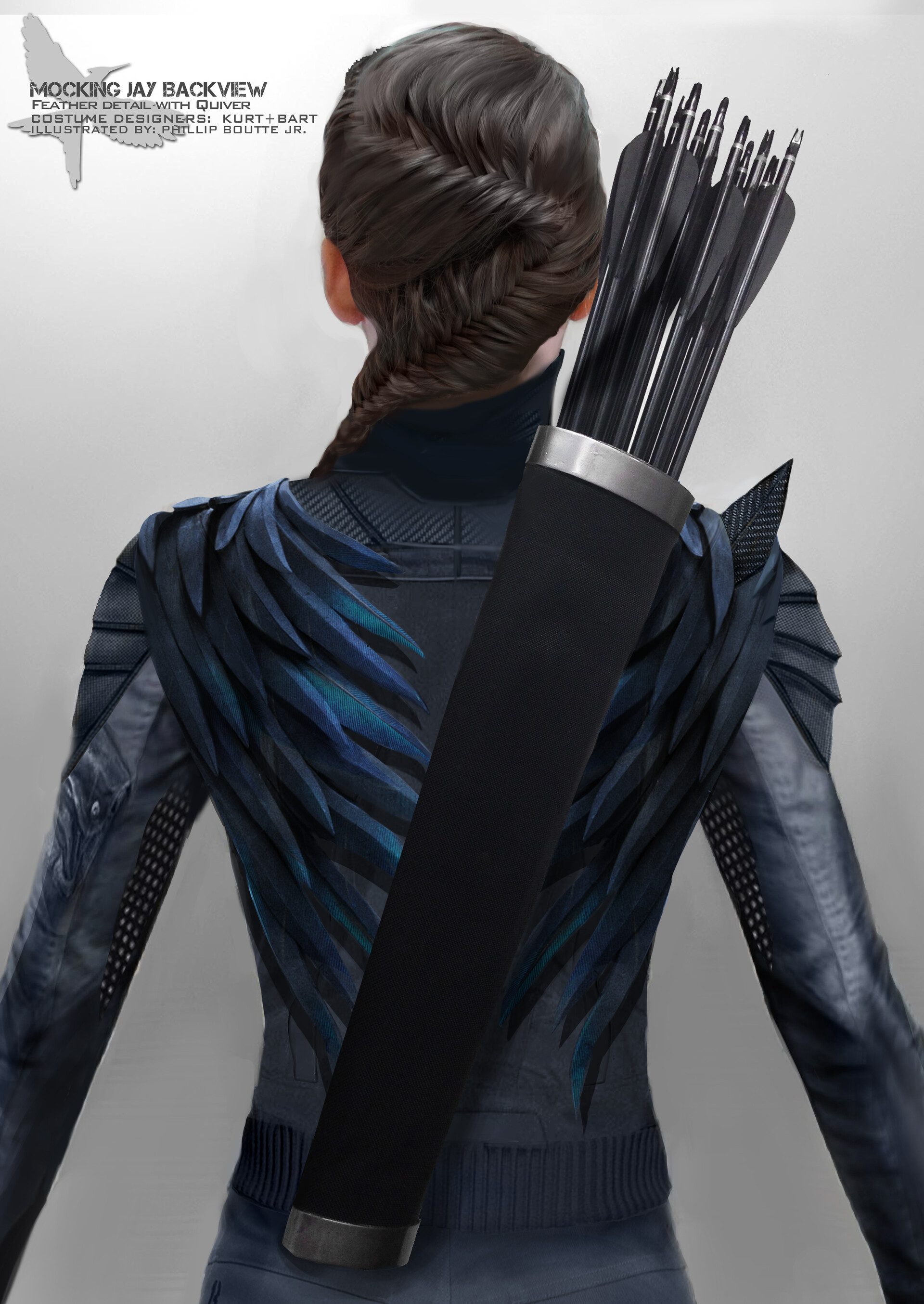 MJ armor feather and quiver concept