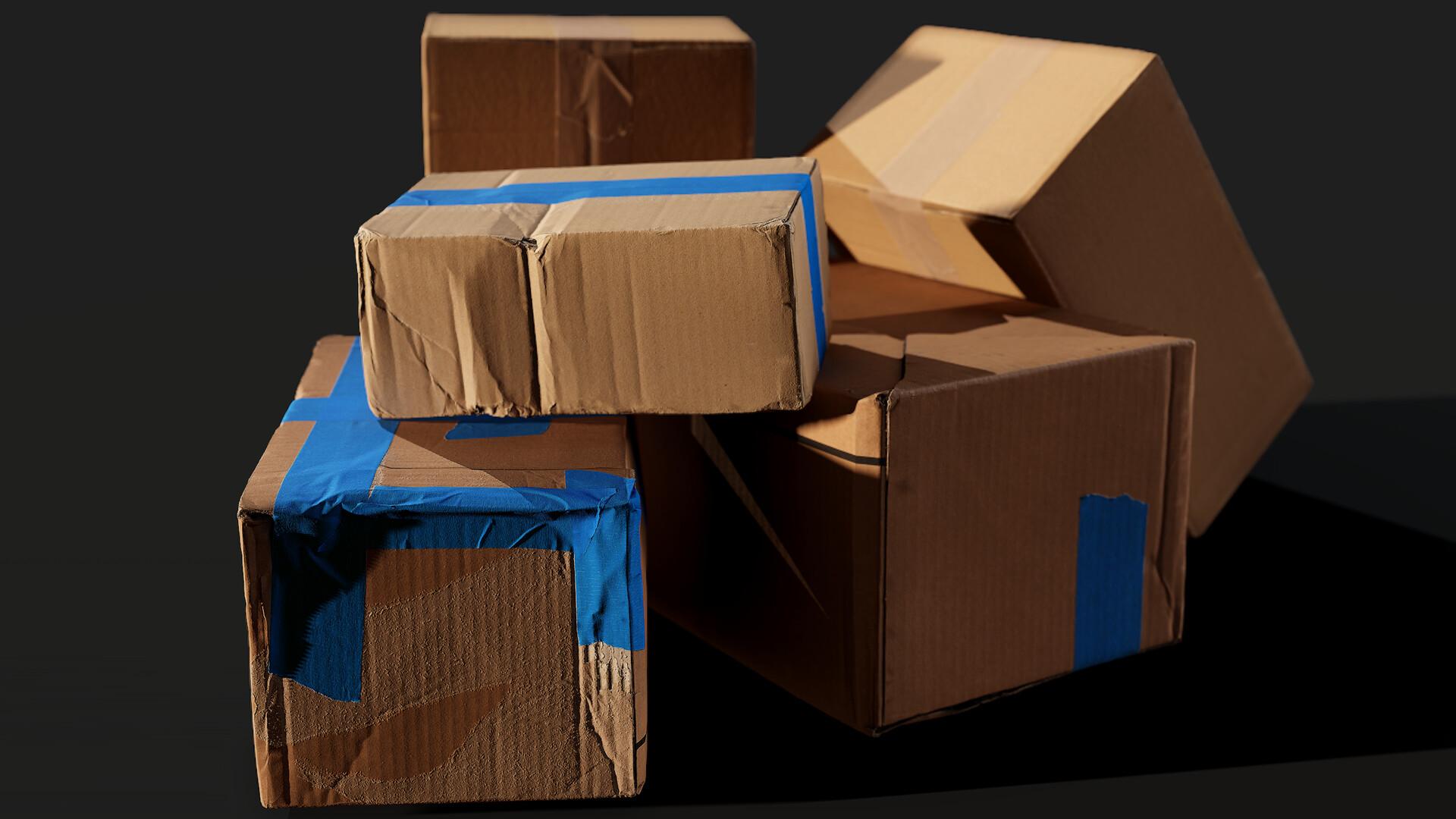 Quixel Megascans Boxes