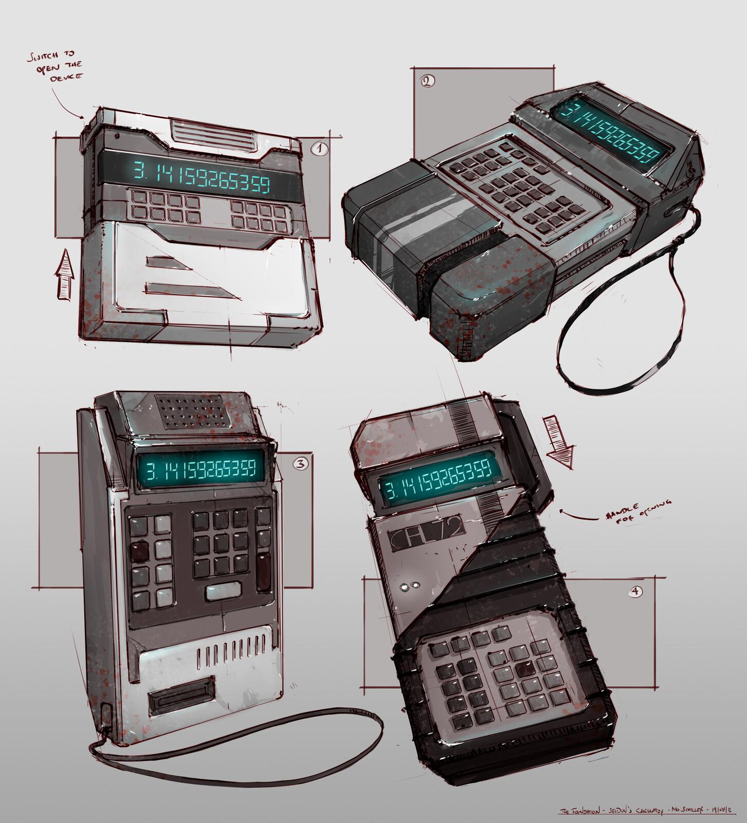 Seldon's Calculator - Concept Design