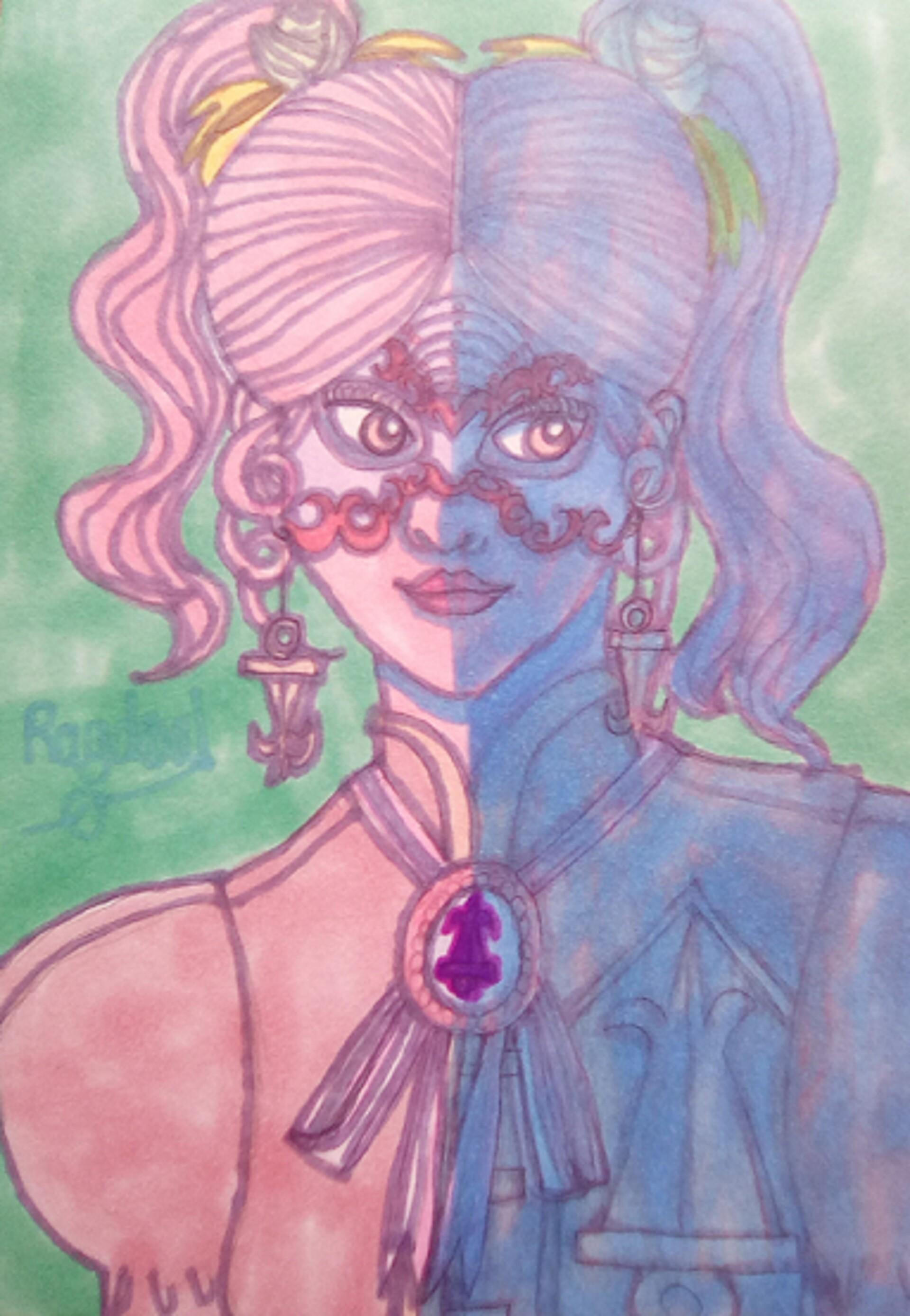 Anei ragdowl masked girl
