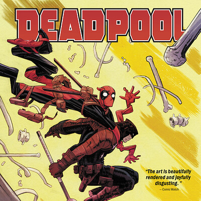 Co-Design and Layout for Marvel's Deadpool Vol. 2: Good Night