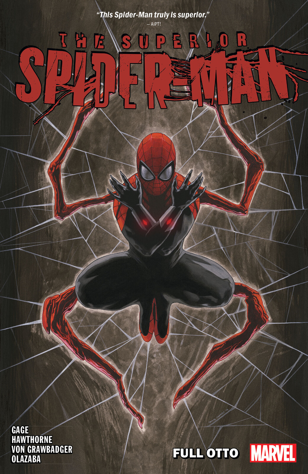 Design and Layout for Marvel's Superior Spider-Man Vol. 1: Full Otto
