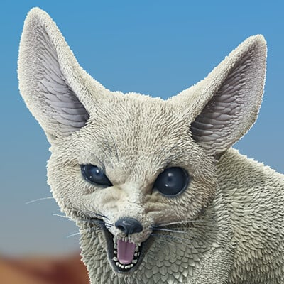 Chris aryanto fennec fox 01
