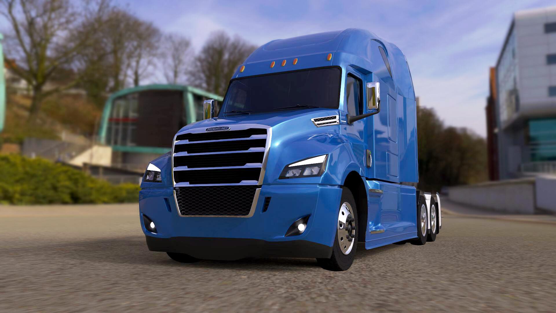 ArtStation - Freightliner Cascadia , Artem Soldatov