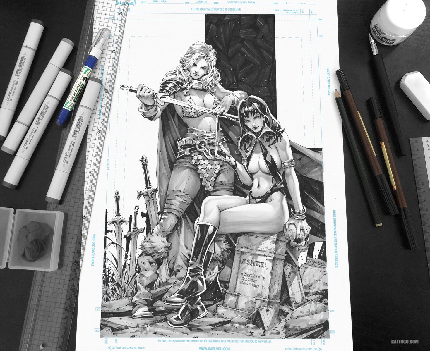 Vampirella/Red Sonja #1