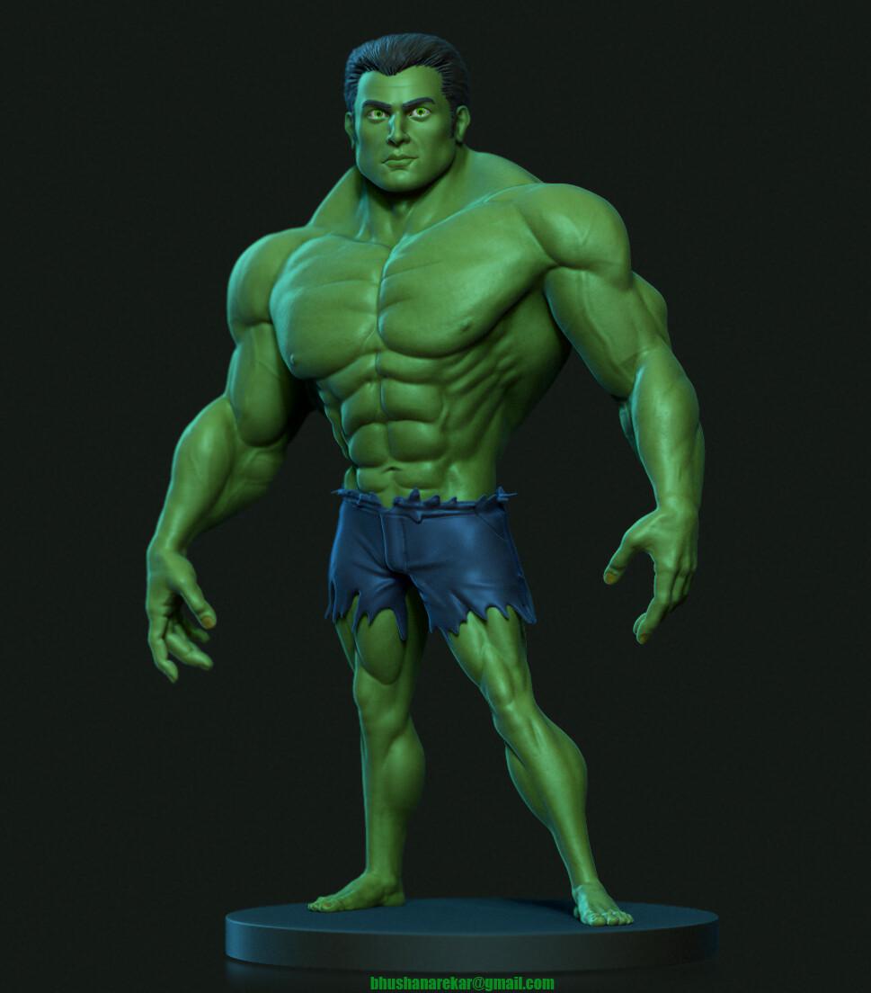 Bhushan arekar stylised hulk1