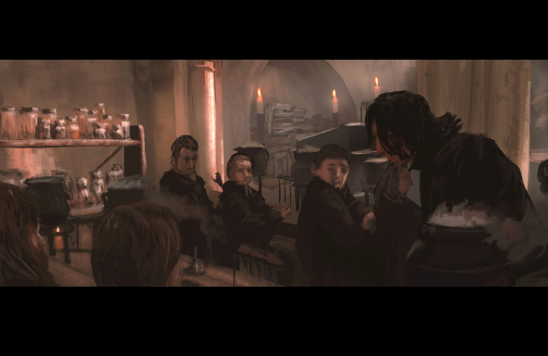 Harry Potter 01 // Study / Lighting / Color (90-120 min)