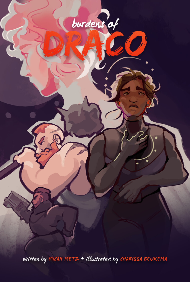 Burdens of Draco Comic - Alternate Cover
