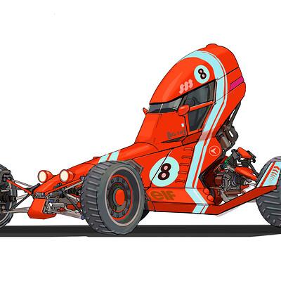 Jonathan wenberg future retro dakar rally racer hotrod clean 005