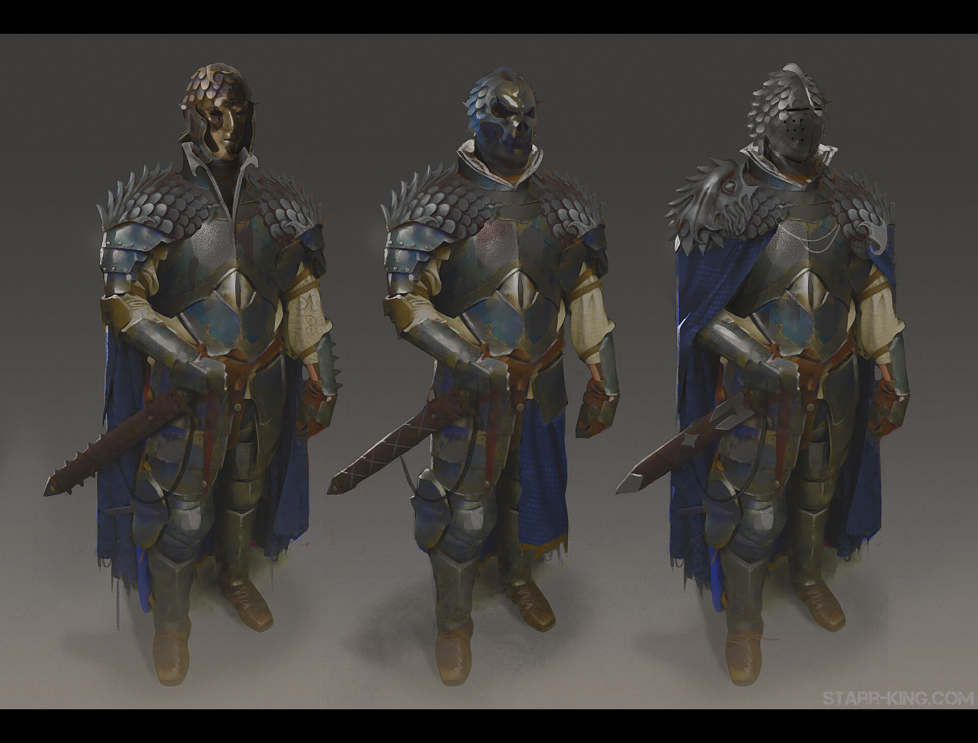 James starr king starr king concept maskedknight
