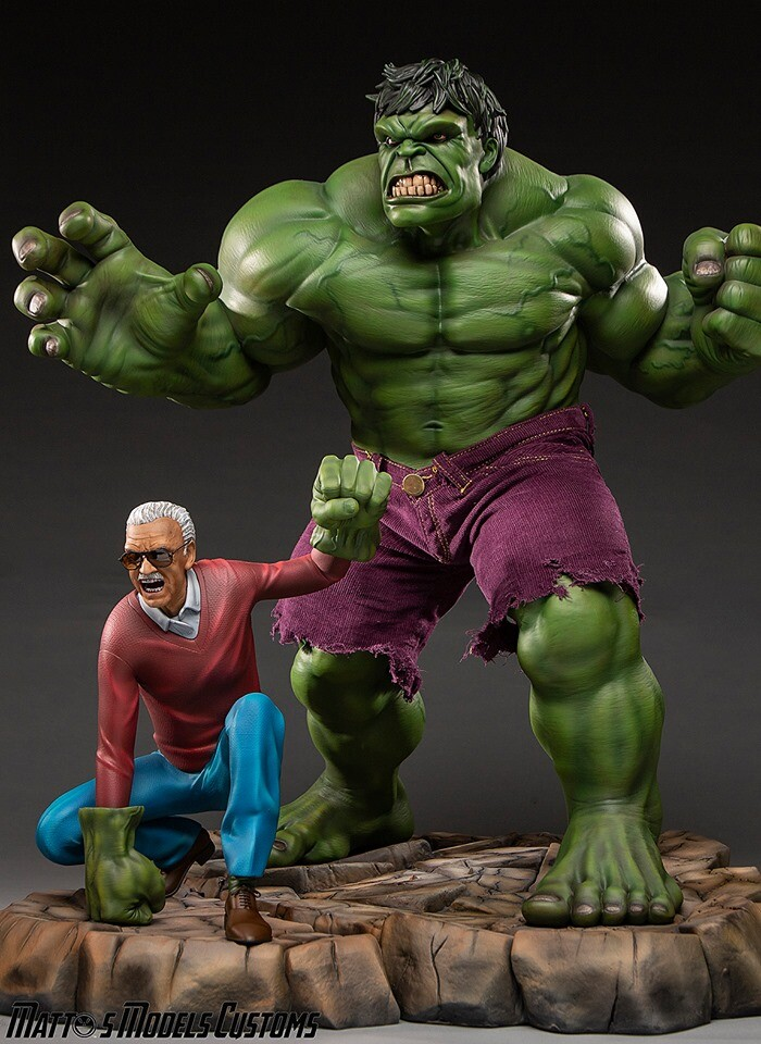 Stan Lee and Hulk (Production)