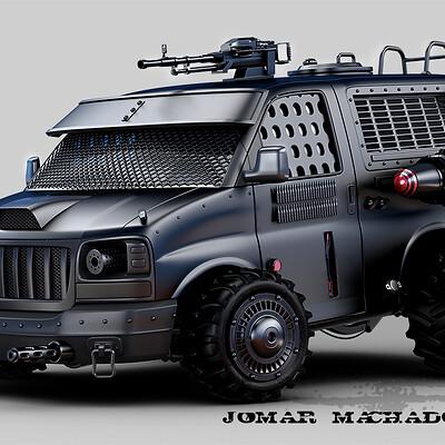 Jomar machado 206 darkest van