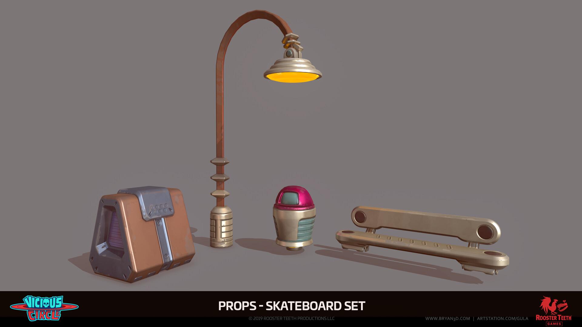 Bryan shannon 001 skateboardprops