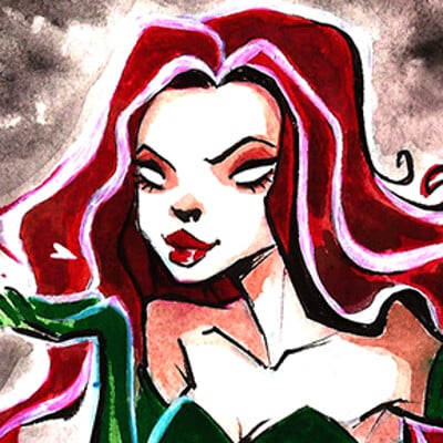 Elis zill poison ivy