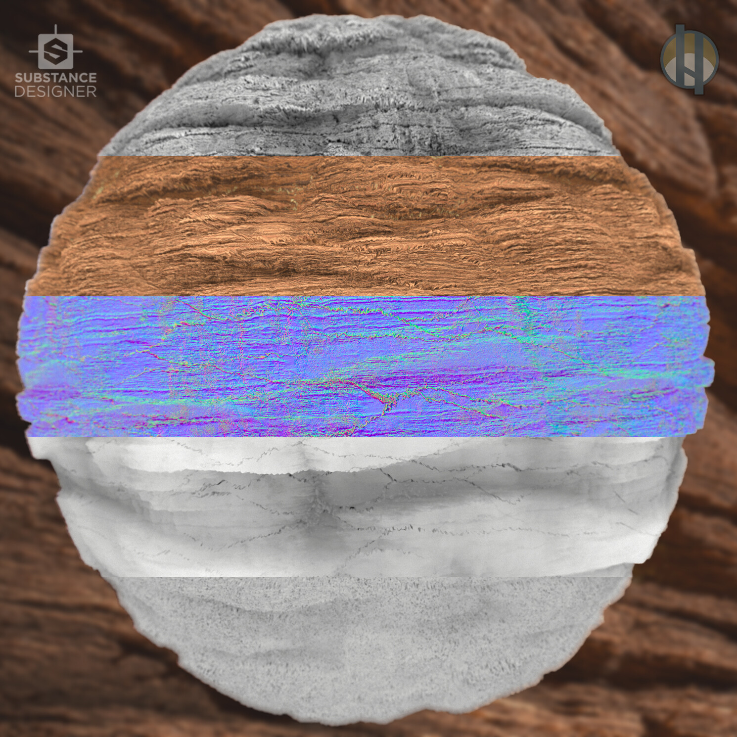 Justin hrala cliff rock sandstone rough breakdown