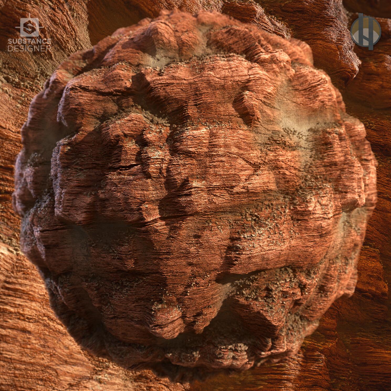 Justin hrala cliff rock sandstone boulder