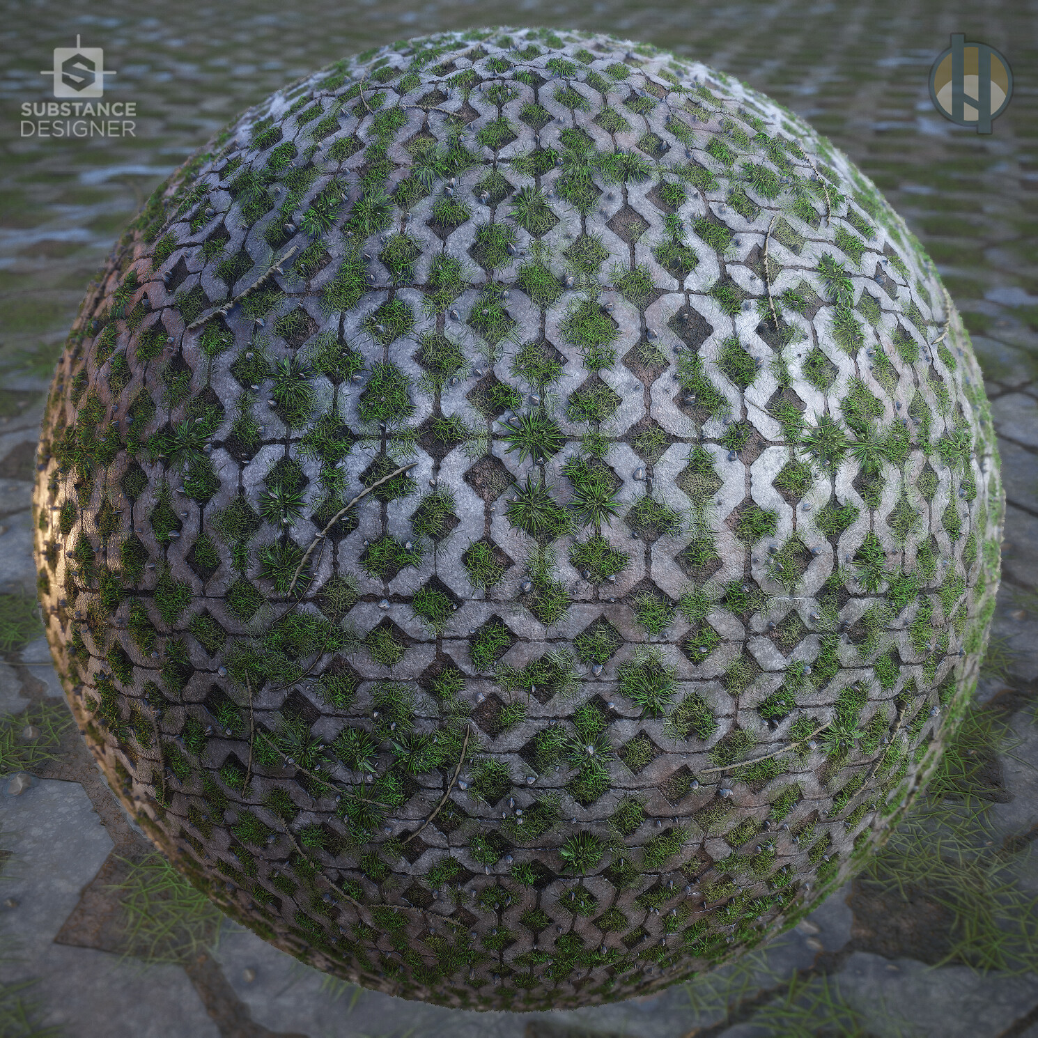 Justin hrala diamond bricks sphere