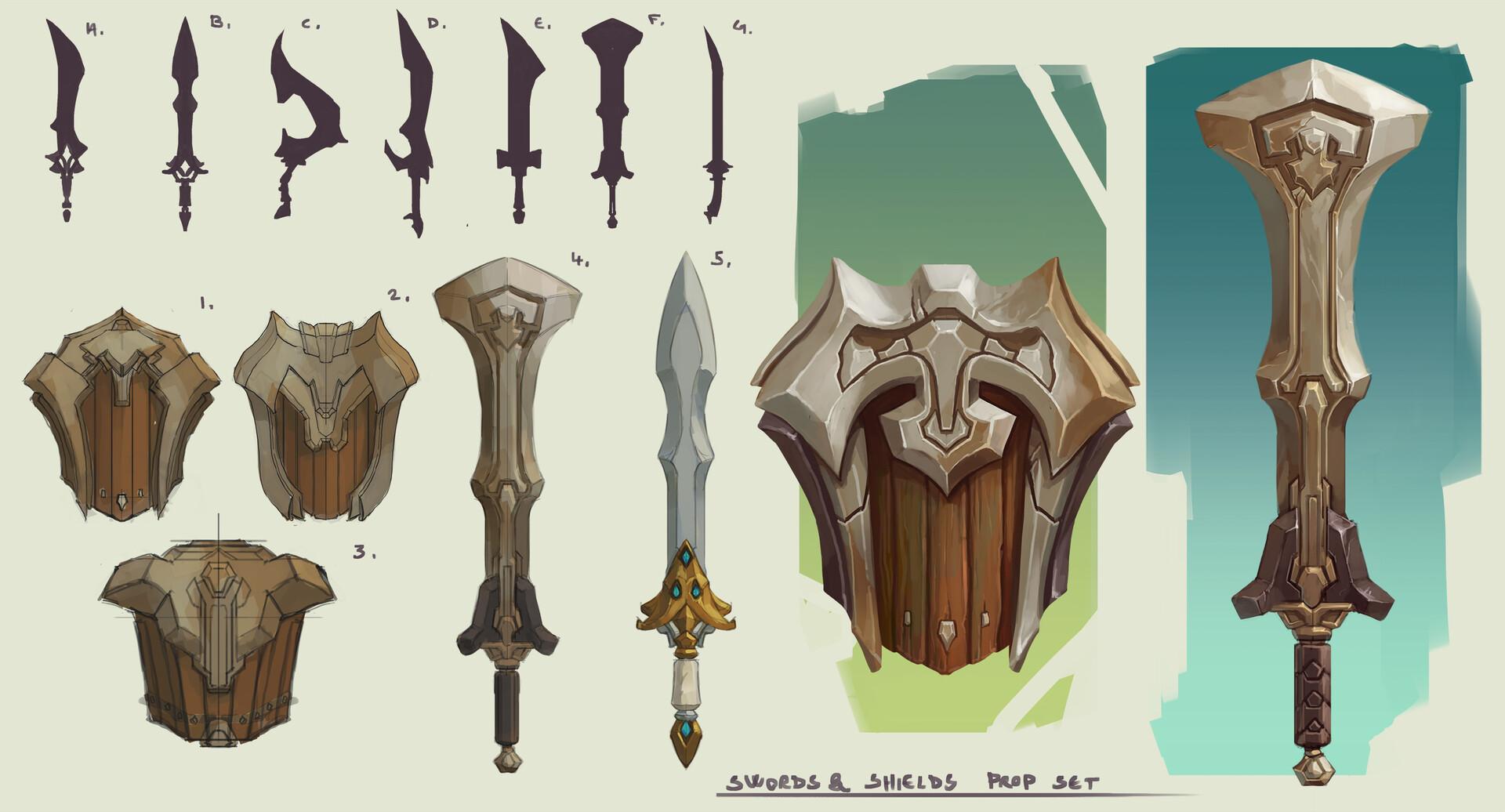 Domen kozelj weapon sets