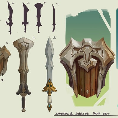 Domen kozelj weapon sets